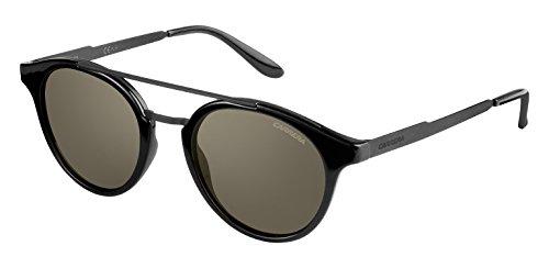 Carrera Unisex-Erwachsene 123/S 70 GVB Sonnenbrille, Schwarz (Shn Matte Blk/Brown), 49