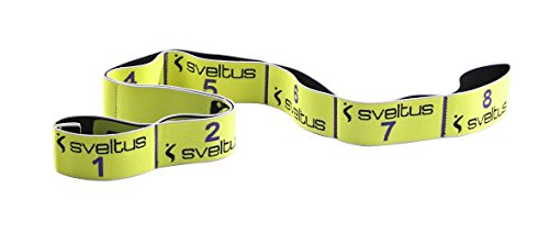 Sveltus 0111 Sangle de musculation Jaune 10 kg
