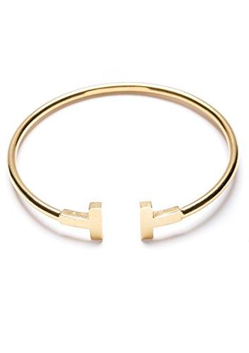 Happiness-Boutique-Damen-Offener-Armreif-Gold-Titan-Armband-Minimalist-Armschmuck-fr-Frauen