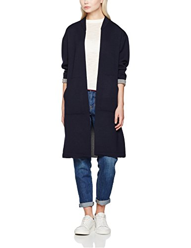 filippa-k-two-tone-long-cardi-cardigan-donna-blue-navy-light-46-taglia-produttorel