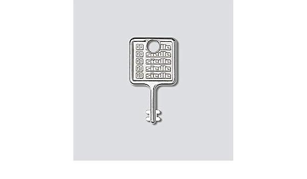 ABS 36398 Bremsbelagsatz 4-teilig Scheibenbremse