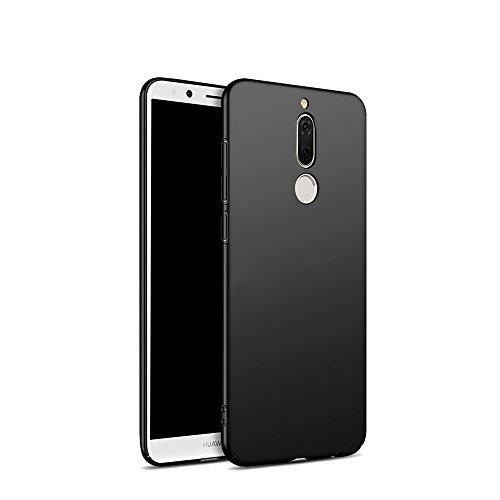 Huawei Mate 10 lite hülle, Hard Case PC Protective Cover Back Matte Bumper Ultra-Thin Lightweight Anti-Scratch Anti Slip Ultra Slim Skin mate 10 lite case Schwarz