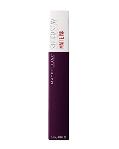 Maybelline Super Stay Matte Ink Lippenstift Nr. 45 Escapist, farbintensiver Lippenstift für bis zu...