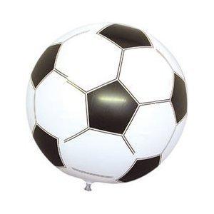 1 Ballon Foot Gonflable 40 cm - Jeu Animation - Anniversaire Enfant