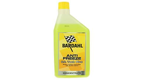Bardahl Antifreeze OA Tech Plus Jaune canari antigel concentré -37 °C + 108 °C 1 lt
