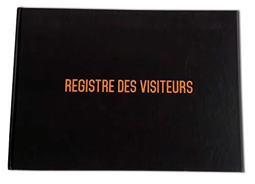Registro degli ingressi e uscite dei visitatori–Formato A4–di alta qualità