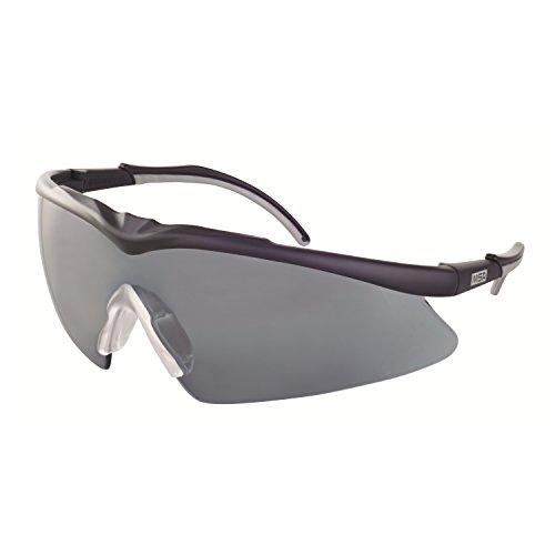 MSA Safety TecTor Opirock Ballistische Schutzbrille UV400 + Mikrofaserbeutel und Kordel, Farbe:...