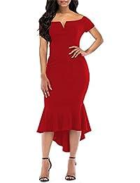 a678c5295981 Suchergebnis auf Amazon.de für: roter teppich - Kleider / Damen ...