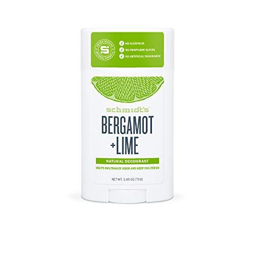 Schmidt's - Desodorante Natural Barra Bergamota Lima