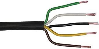 20m Flryy Fahrzeugleitung 5x 1 5mm Rund Kabel Kfz Anhängerkabel Beleuchtung