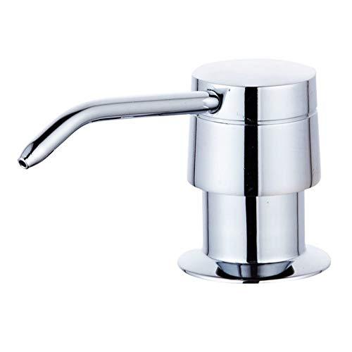 MwaaZ Badzubehör, Spüle Seifenspender, Waschmittelflasche, Spüle, Edelstahl Kupfer, Küchenspüle Zubehör Küche