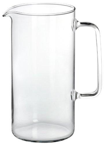 Bohemia Cristal 093/006/037 Simax - Jarra cilíndrica (1000 ml), trans