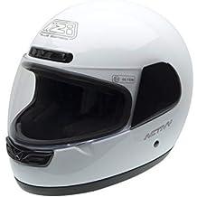 NZI Activy Casco de Moto, Blanco, 55-56 (S)