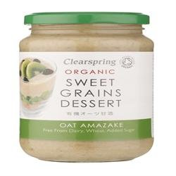 Clearspring - Organic Oat Amazake - Sweet Grains Dessert - 360g