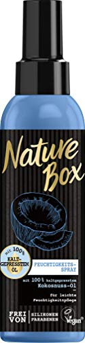 Nature Box Feuchtigkeitsspray Kokosnuss-Öl, 3er Pack (3 x 150 ml)