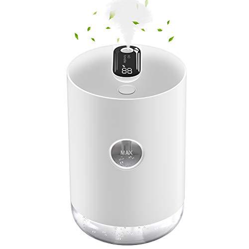 Gifort Humidificador Ultrasónico, Humidificador de Niebla de 1000 ml Difusor de USB, Humidificador...