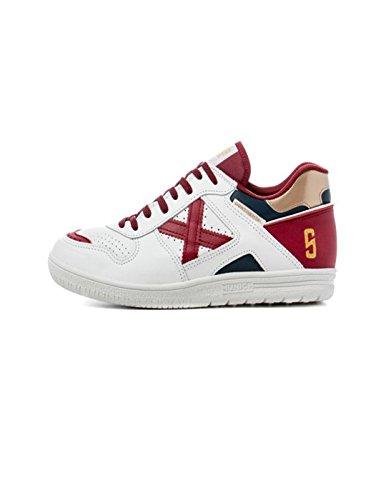 Munich Continental, Sneaker Infilare Uomo Bianco (Bcorosso 859)