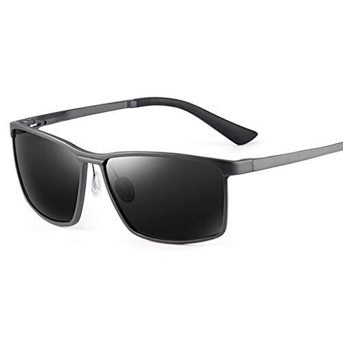SUNGLASSES Sonnenbrille Mann, Angeln Strahlenschutz Anti-UV-Augenschutz Shades Wayfarer Polarized (Farbe : A)
