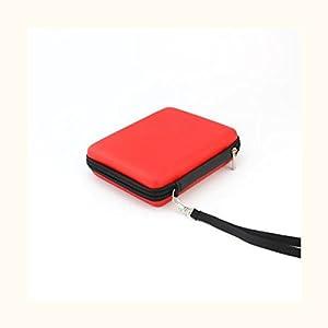 MagiDeal Tasche Mit Umhängeband Carry Case für Nintendo 2Ds Konsole Tragen – Rot