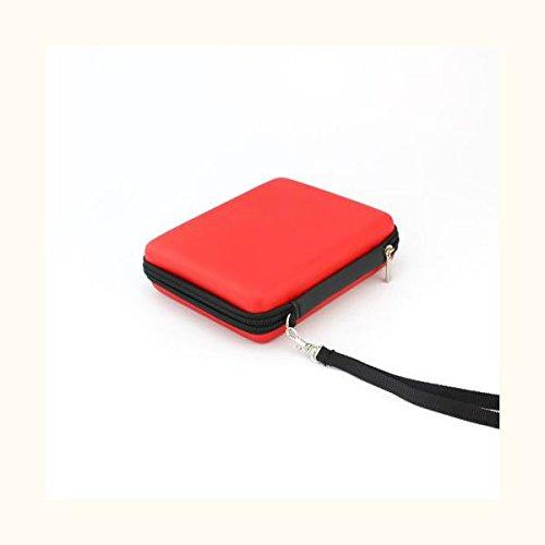 Estuche Bolso Bolsa Con Cordón para Consola Nintendo 2DS - Rojo