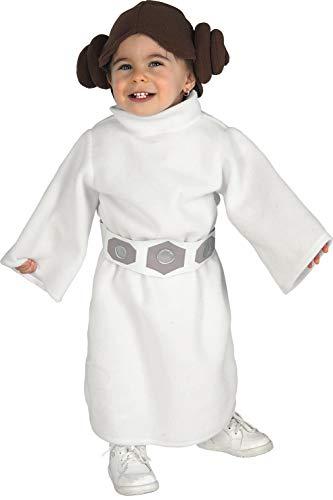 Prinzessin Gürtel Kostüm Leia - Rubie's Faschingskostüm, Offizielles Disney Prinzessin Leia, für Babymädchen