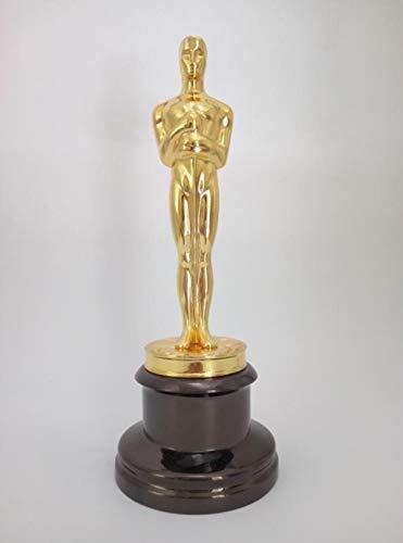 THREE 1: 1 Oscar Statue Metallfiguren Oscar Trophy Awards Preis in Metall Oscar Craft, A