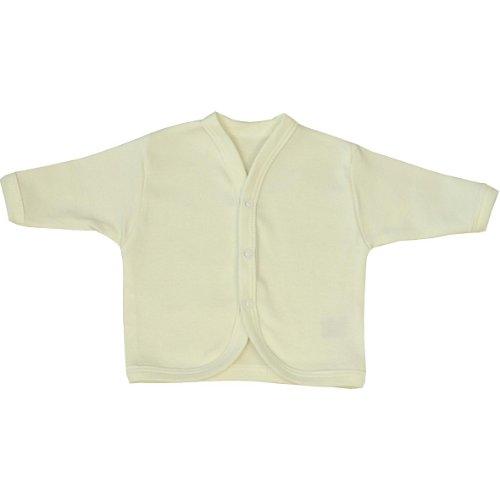 BabyPrem Babykleidung Frühchen - 6 Monate Strickjäckchen Pullover Baby Creme 3-6 (Baby-creme Pullover)