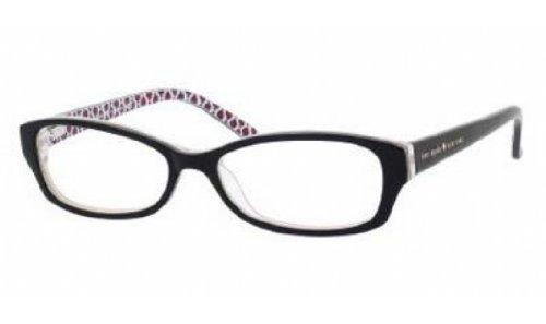 Preisvergleich Produktbild KATE SPADE Brillengestell SHEBA 0SS6 Schwarz/Cremefarben/Kristall 51MM