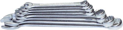 H&G 772516 Ring Gabelschlüssel-Satz, silber, 12 Stück -