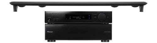 Pioneer HTP-SLH600 2.1 Heimkinosystem (HDMI, 300 Watt, Bluetooth mit adapter) schwarz