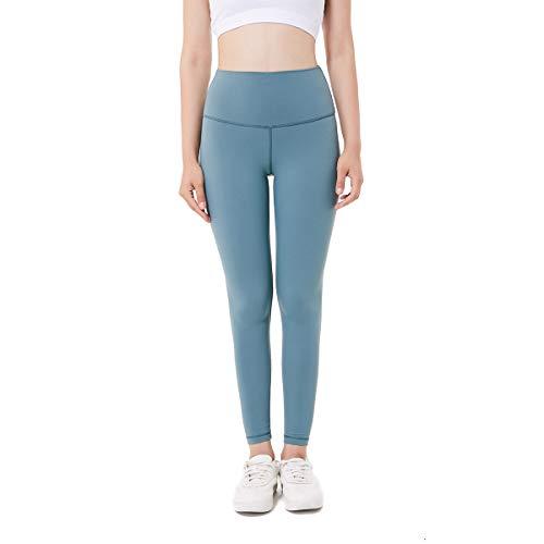Jalas Jogginghose für Frauen Fitness Power Flex Bauchkontrolle Workout Leggings Hohe Taille, Damen, hellblau, 4 -
