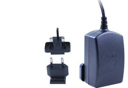 31SbYmKIg6L - Raspberry Pi 3 Official Starter Kit Black, con Cargador Oficial, Caja Oficial, microSD Oficial de 16GB con NOOBS, Cable HDMI y disipadores