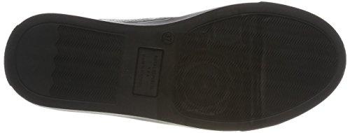 Royal RepubliQ Damen Elpique Fractal Derby Elastic-Blk Sneaker Schwarz (Black)