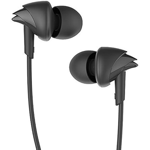 UiiSii C200 In ear Auriculares del Deporte HD Crystal Clear Sweatproof con micrófono con Cancelación de Ruido Cabritos para Iphone / Samsung / iPod / PC