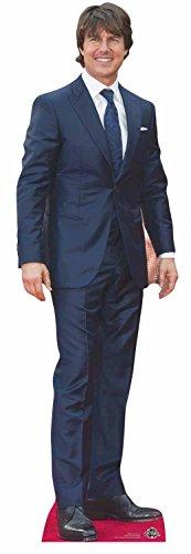Star Aussparungen Tom Cruise Life Größe Pappe, mehrfarbig