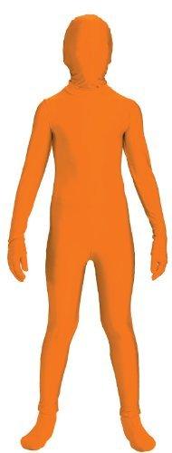 Invisible Man Child Costume Orange Skin Suit Large