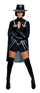 Rubbies - Disfraz de Zorro para Mujer, Talla M (195192)