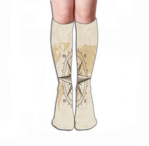 zengjiansm Hohe Socken Knee High Fun Socks for Women 19.7