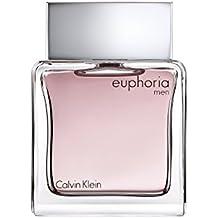 Calvin Klein Euphoria Men - Agua de tocador vaporizador para hombre, 50 ml