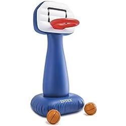 Intex aufblasbarer Basketball Korb 104x97x208cm mit 2 Bällen