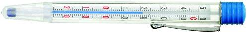 STERNSTEIGER PROFI TEIG-THERMOMETER, Thermometer, - 20°C bis + 50°C, mit Klip, Ø 12 mm, 13 cm
