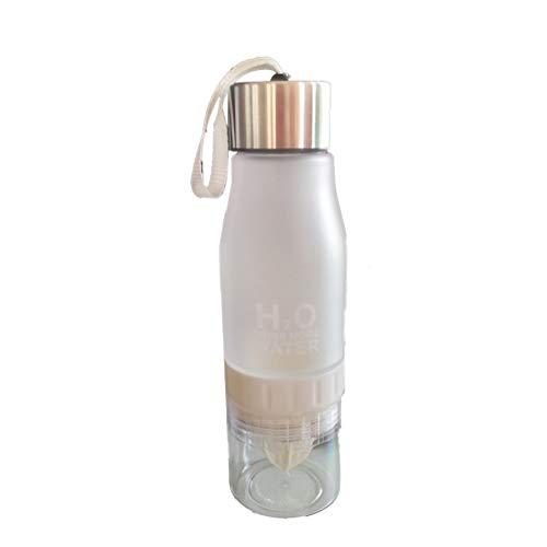 Manuelle Entsafter Wasserflasche Kunststoff Obst Infusion Flasche Infuser Getränk Outdoor Sports Saft Zitrone Tragbare Wasser Bootle