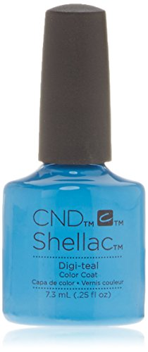 CND Shellac Digi-Teal, 1er Pack (1 x 7 ml)