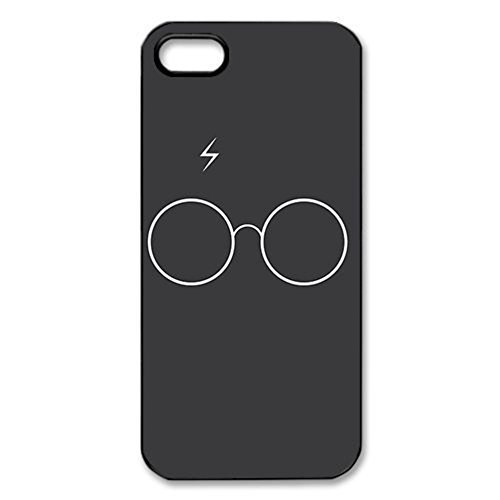 harry-potter-hogwarts-crest-black-hard-cover-case-for-iphone-5-5s-case