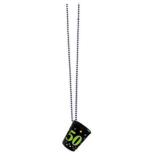 Amscan 50. Geburtstag Halskette Shot ()