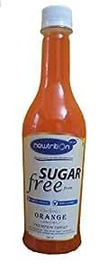 Newtrition Plus Orange - Sugar Free Syrups 500 ml