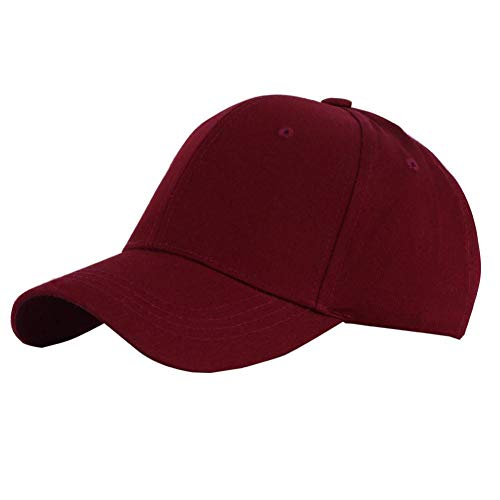 CJYTYM Baseball Caps Männer Frauen Plain Cotton Einstellbare Washed Twill Low Profile Baseball Cap Hut Low-profile Twill Hut