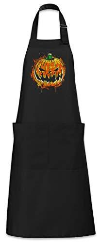 Urban Backwoods Pumpkin Head Grillschürze Kochschürze