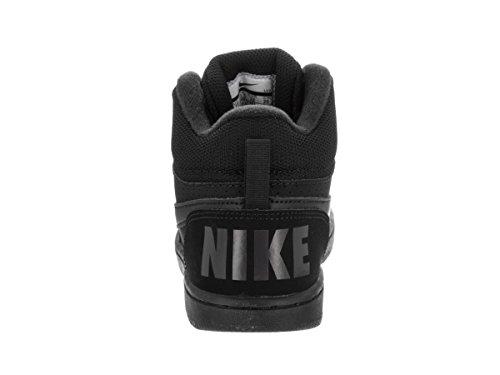 Nike Jungen Court Borough Mid (Ps) Basketballschuhe Schwarz
