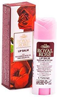 BALSAMO LABBRA ALL'OLIO DI ROSA ED ARGAN STICK LIP BALM WITH ROSE&ARGAN OIL \